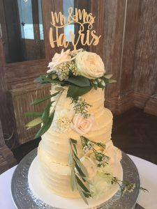 vegan buttercream wedding cake myohmy weddings