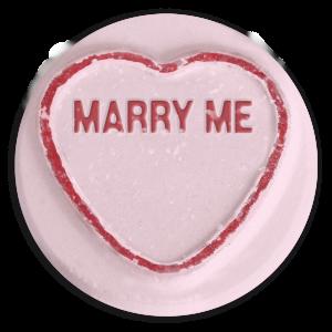 proposal loveheart