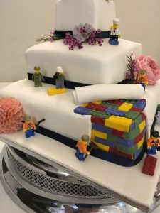 part of lego wedding cake myohmy weddings